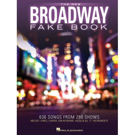 - The New Broadway Fake Book