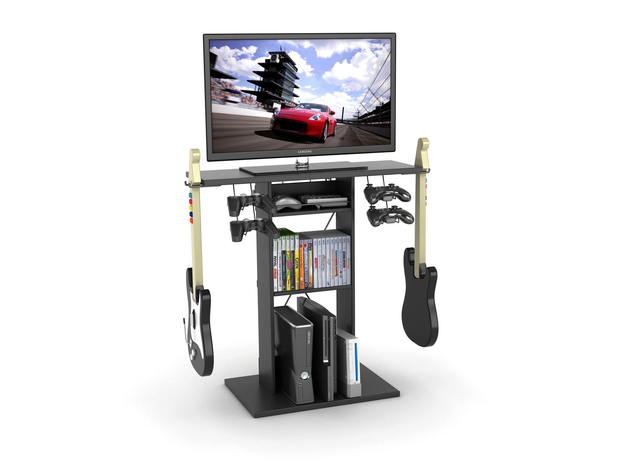 Atlantic Spyder Tv Gaming Stand Walmart Com