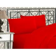 CLEARANCE Super Soft 1500 TC Sheet set , King Red