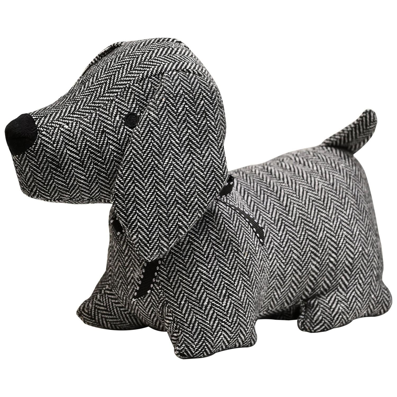 Checker Dog Fabric Bag Door Stop Weighted Floor 2 2 Lbs Walmart Com Walmart Com
