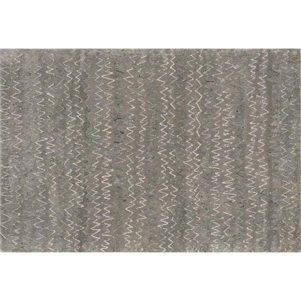 Loloi Diada 5 X 7 6 Hand Tufted Wool Rug In Gray Walmart Com Walmart Com