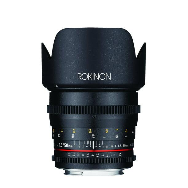ROKINON 50mm T1.5 Cine DS Full-Frame Lens for Sony Alpha Cameras