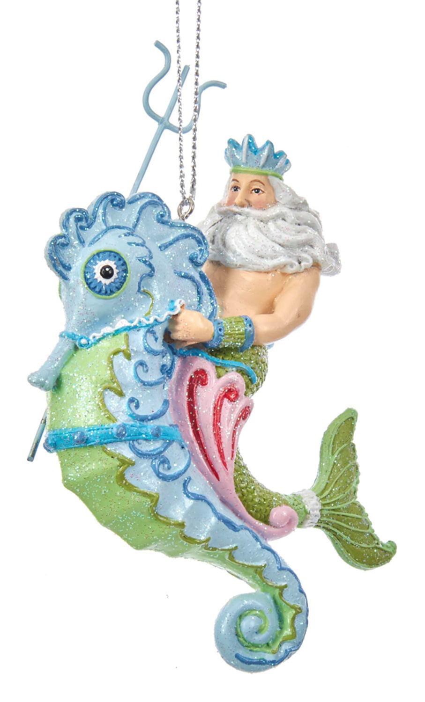 Kurt Adler Mermaid Ornament Set of 3 3 Piece
