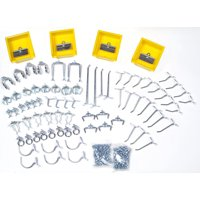 DURAHOOK 76983 Pegboard Hook Assortment Kit,Welded