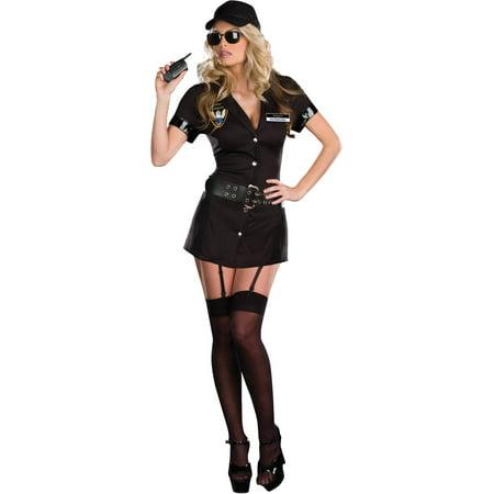 Bodyguard Eva Destruction Women's Adult Halloween Costume, One Size, XL (14-16)