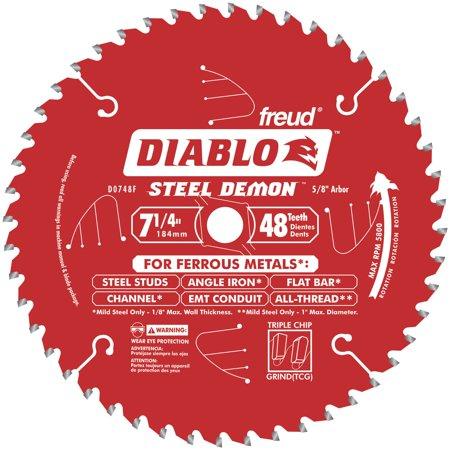 Ferrous Metal Cutting Blade (Diablo  D0748CFX 7-1/4