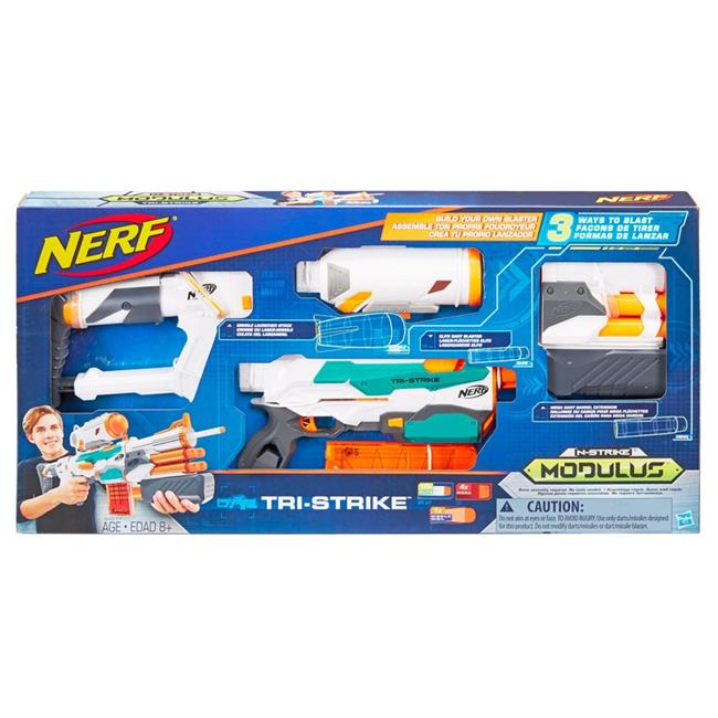 Hasbro HSBB5577 Nerf Modulus Tri-Strike Set of 3 by Hasbro