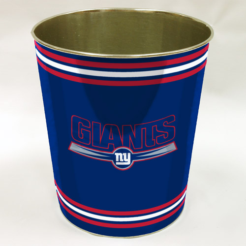 NFL New York Giants Wastebasket