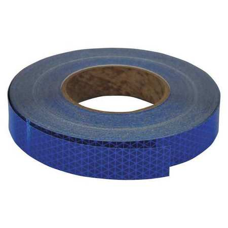 REFLEXITE 18762 Reflective Tape,W 1 In, L 50 Yd,Blue