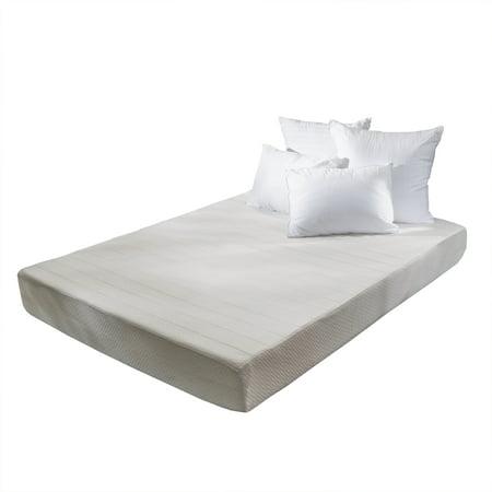 Noble House 10 Basic Twin Xl Memory Foam Mattress Walmart Com