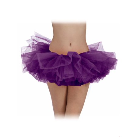 Purple Adult Tutu Halloween Costume](Homemade Halloween Costume Ideas With Tutus)