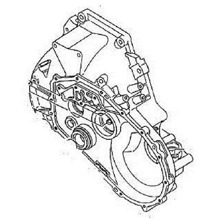 GM Transmission Housing. Part Number: 97133348. GM