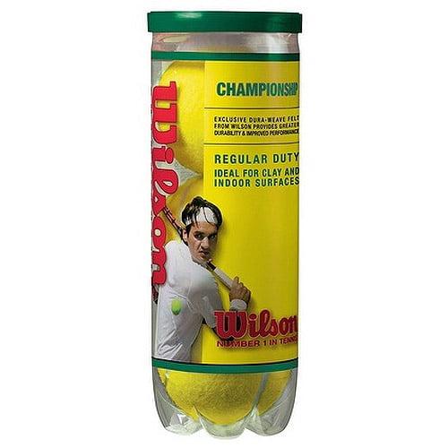 Wilson Championship Regular Duty Tennis Balls (1-can) by Wilson Sporting Goods