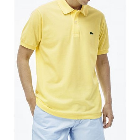 7b43b784 Lacoste - Lacoste NEW Yellow Feather Mens Size Large L Classic Pique Polo  Shirt - Walmart.com