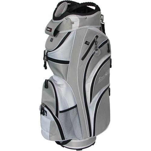 Tour Edge Golf HT Max-D Cart Bag, Silver/White