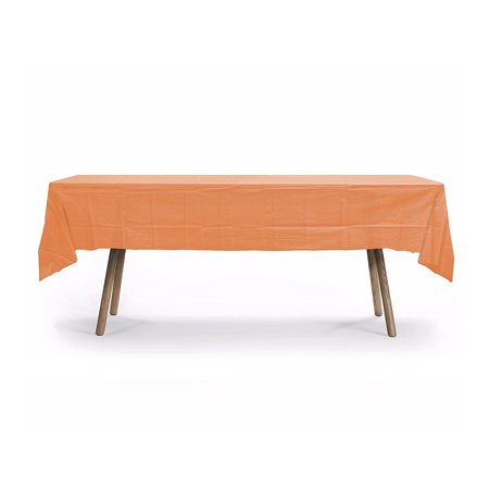 12 Pack Plastic Table Cover, 108