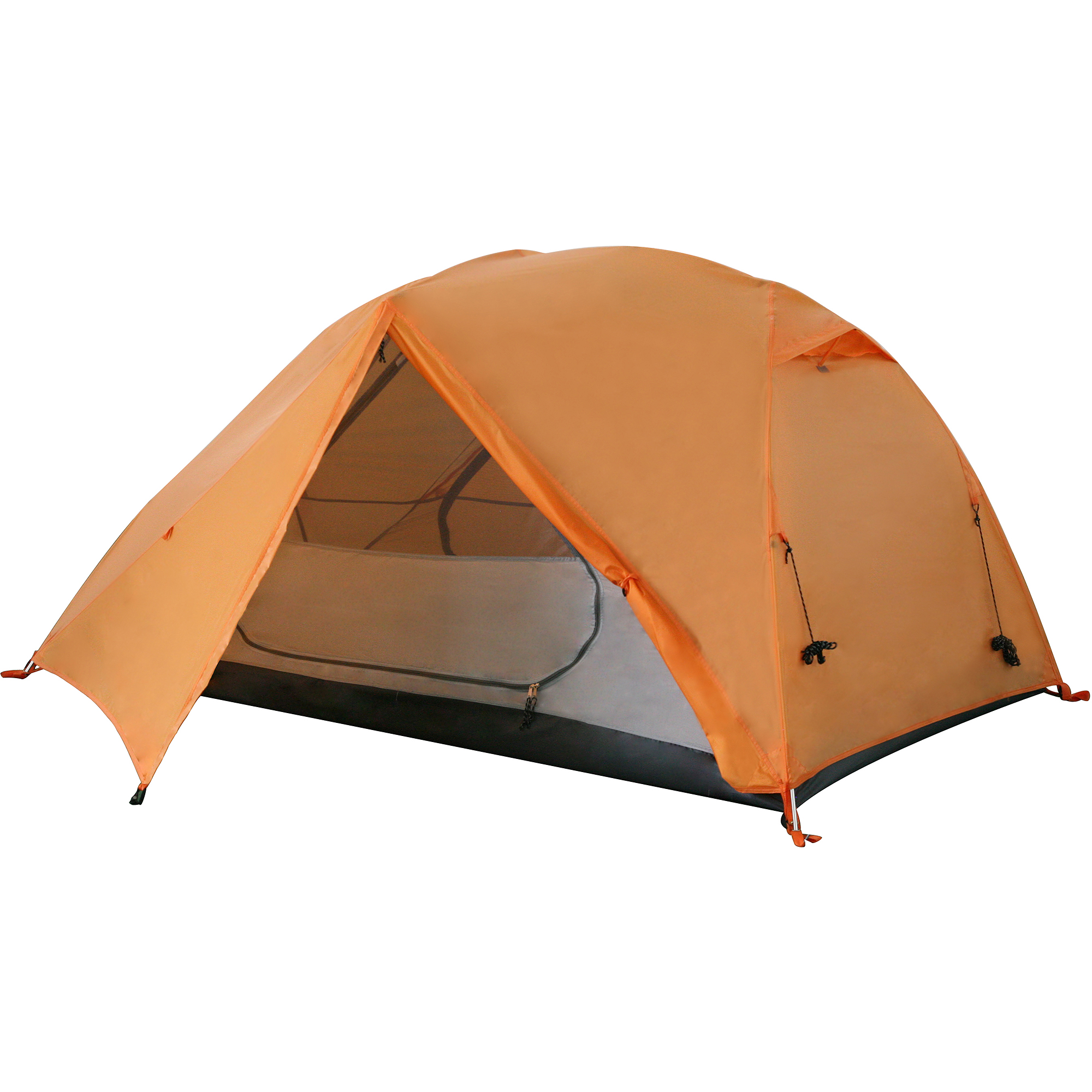 Ozark Trail Lightweight Aluminum Frame Backpacking Tent, Sleeps 2