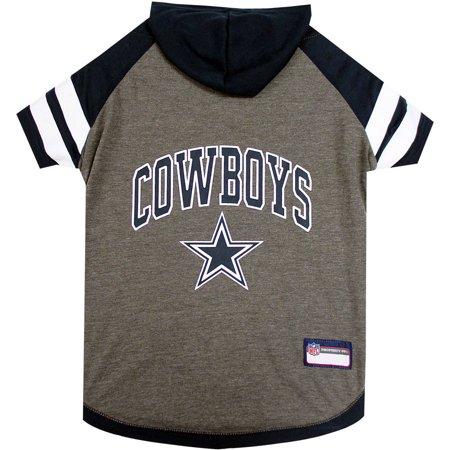e9c2826f Pets First NFL Dallas Cowboys Pet Hoodie Tee Shirt - Walmart.com