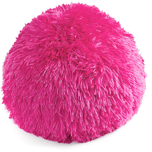 your zone longhair fur decorative pillow