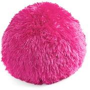 Your Zone Longhair Fur Decorative Pillow, 1 Each