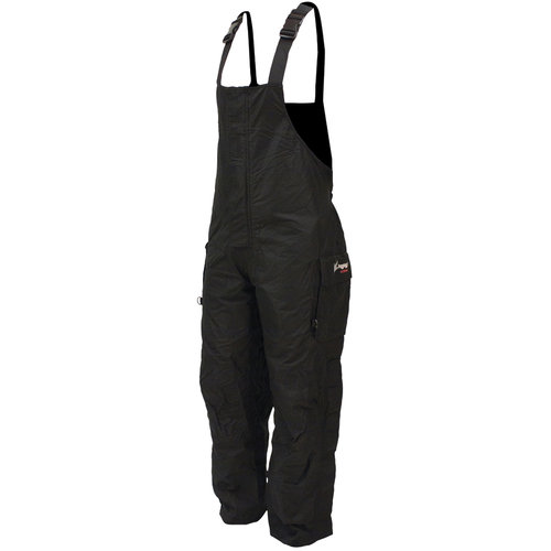 Frogg Toggs Men's Toadskinz Bib Pant, Black, Large by Frogg Toggs