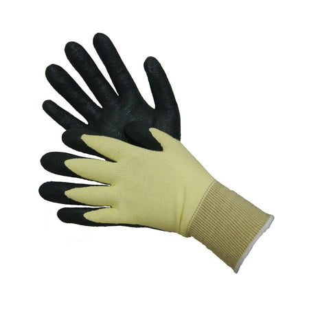Cut & Heat Resistant Kevlar Shell with NBR Palm Coated Gloves Lot of 1 Pack(s) of 1 Pair