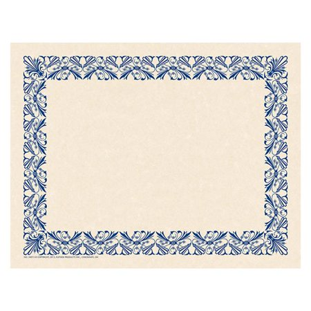 Art Decorative Border Paper - Blue
