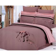 Full/Queen Bed Modern Bedding Sports Duvet Cover Set Le Vele LE129Q