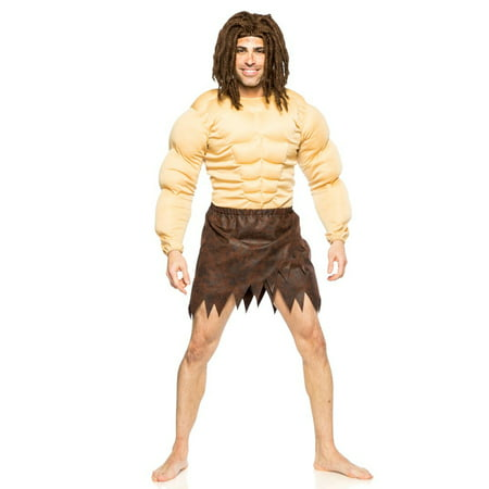 Men's Tarzan Jungle Man Costume 2XL (Adult Tarzan Costume)