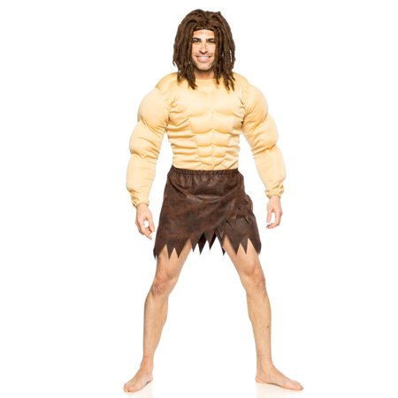 Men's Tarzan Jungle Man Costume 2XL