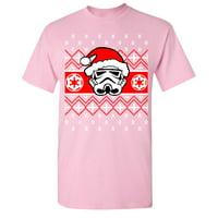 Star Wars Pardoy Santa Darth Vader Men's T-shirt Black Small