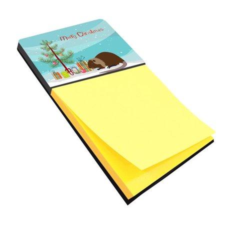 Carolines Treasures BB9246SN Coypu Nutria River Rat Christmas Sticky Note Holder
