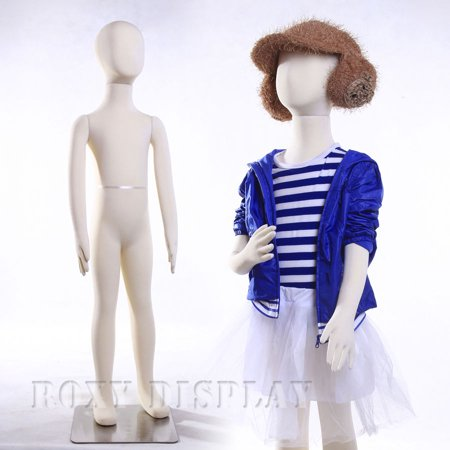 - 7 Year Full body jersey covered flexible children mannequin Dress Form Display #JF-CH07T