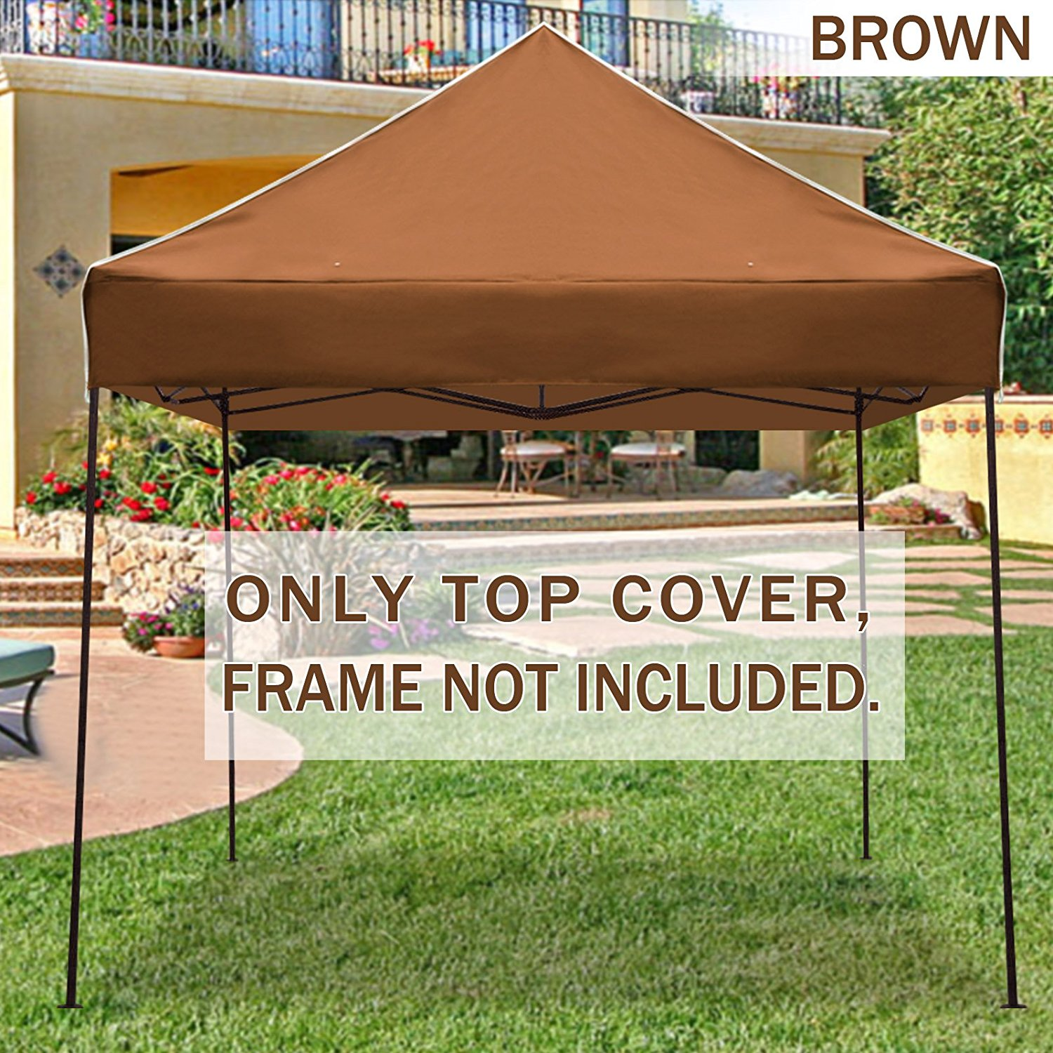 STRONG CAMEL Ez pop Up Canopy Replacement Top instant 10u0027X10u0027 gazebo EZ canopy & STRONG CAMEL Ez pop Up Canopy Replacement Top instant 10u0027X10 ...