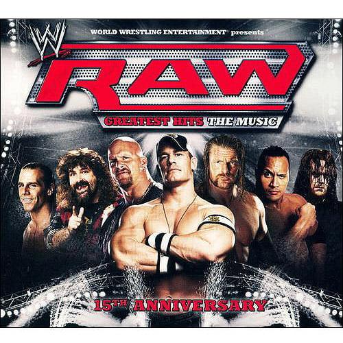 WWE Raw Greatest Hits: The Music (15th Anniversary Edition) (Digi-Pak)