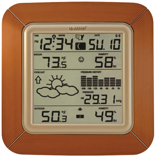 La Crosse Technology Wireless Forecast Station with Barometric Pressure and Moon Phase