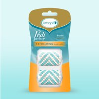 Amope Pedi Perfect Electronic Foot File Exfoliating Brush Refills (2 refills)