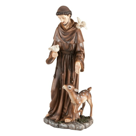 Fox Valley Traders St. Francis - St Francis Statue