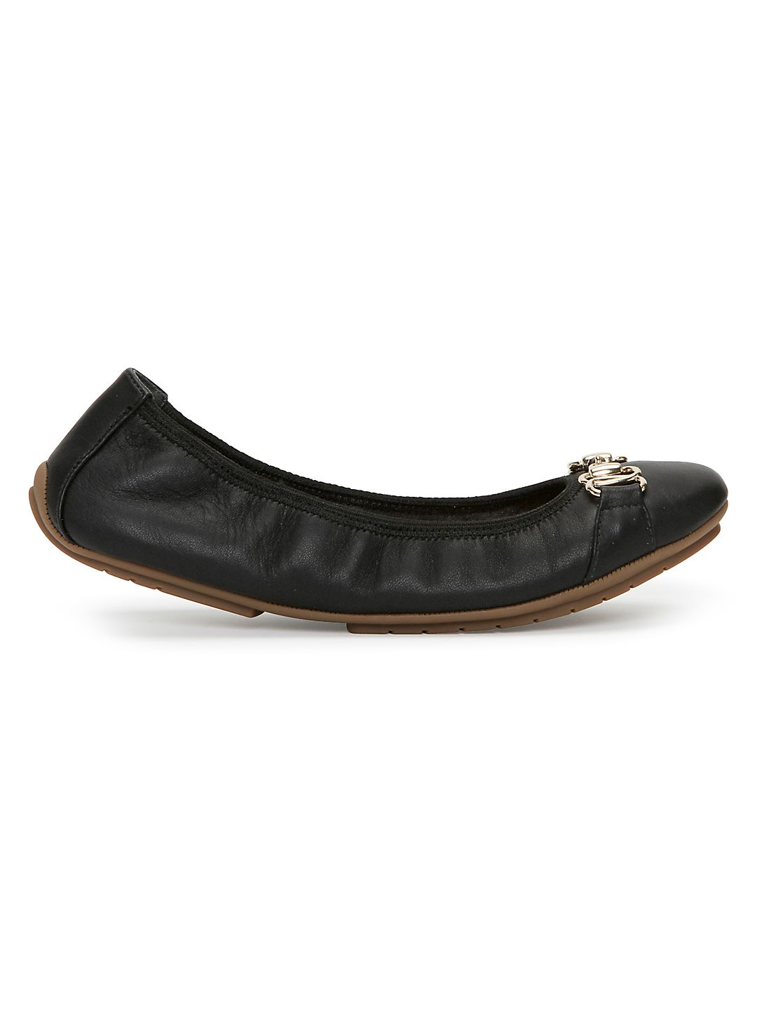 Olympia Leather Ballet Flats