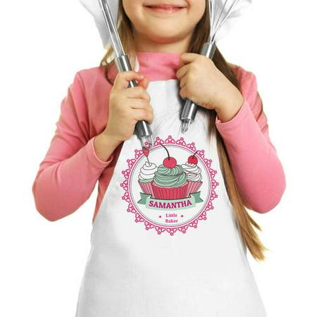 Little Apron Cherry Cupcakes Custom Kids Apron