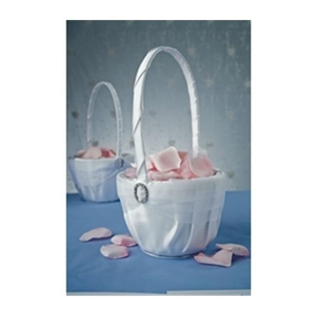 Beverly Clark Crystal Eternity Flower Girl Basket