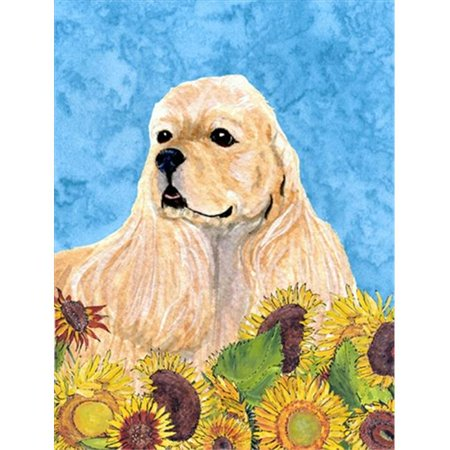 Carolines Treasures SS4155GF 11 x 15 In. Cocker Spaniel Flag, Garden Size - image 1 de 1
