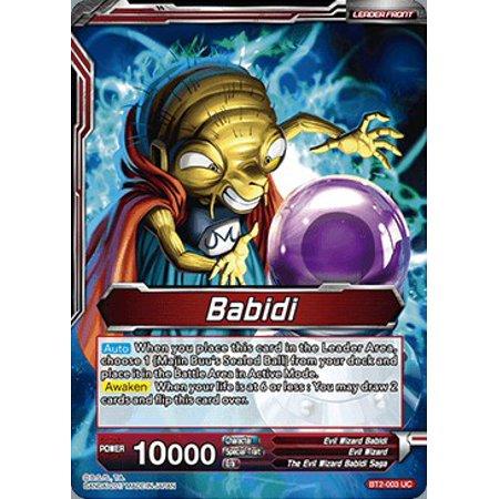 Dragon Ball Super Union Force Babidi / Babidi, Creator of Evil BT2-003 (Bandai Go Go Tomago)