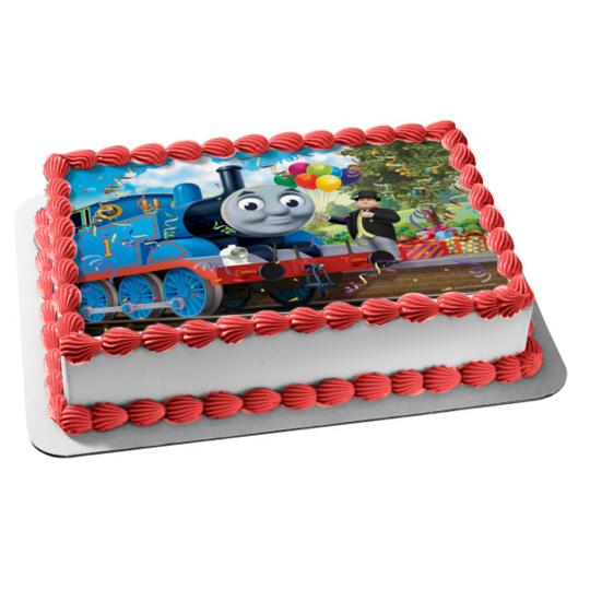 Awe Inspiring Thomas Friends Thomas The Tank Engine Sir Topham Hatt Birthday Funny Birthday Cards Online Fluifree Goldxyz