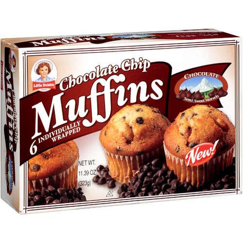 Little Debbie Chocolate Chip Muffins, 11.39 oz