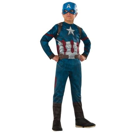 Marvel's Captain America: Civil War - Captain America Costume for Kids