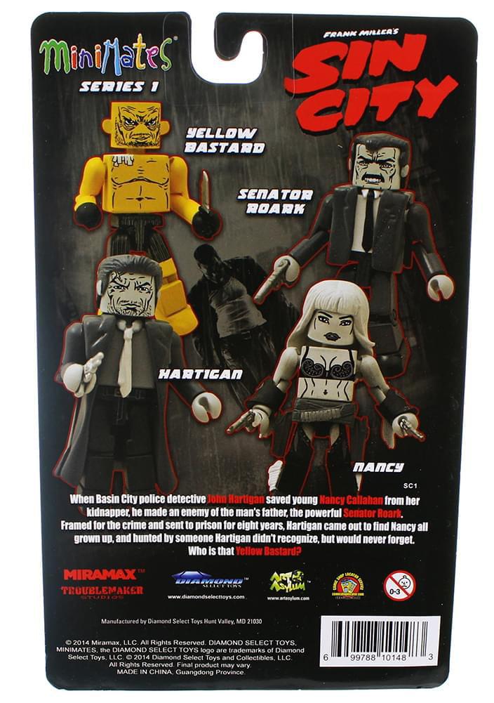 Sin City Minimates Series 1 That Yellow Bastard Roark Jr.