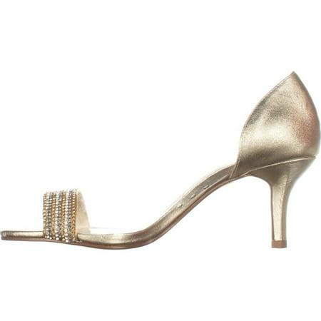 Caparros Womens Fancy Open Toe Classic Pumps