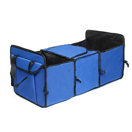 Car Trunk Organizer | Eco-Friendly, Super Strong & Durable, Collapsible,Insulated Thermal,  Cooler Storage Bag Collapsible Box