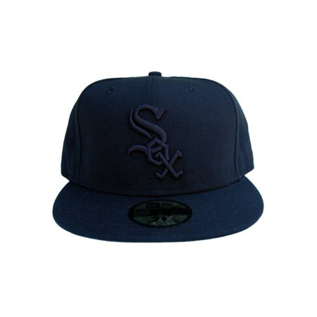promo code ed7d6 3e8f0 MLB Chicago White Sox New Era 59Fifty Black Fitted Hat, ...